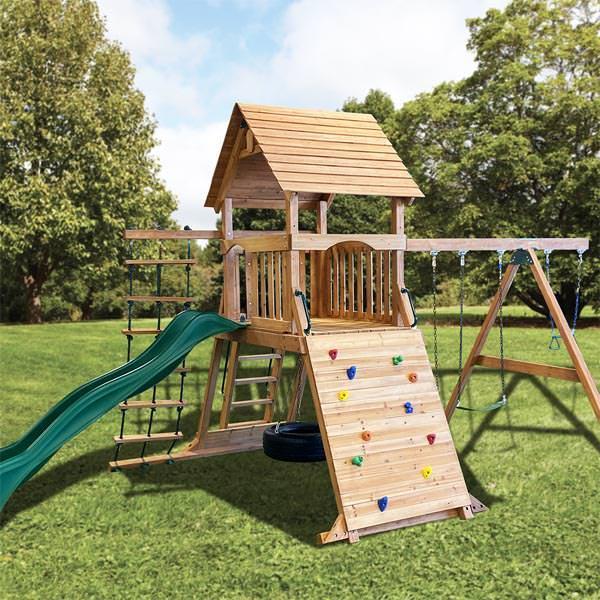 Crown Jewel Play Set by Backyard Adventures