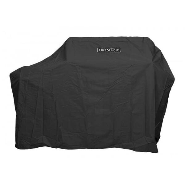 Stand Alone with Side Burner Grill Cover by Fire Magic Grills