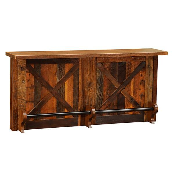 Barnwood Bar by Fireside Lodge Furniture