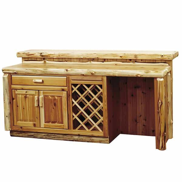 Cedar Bar by Fireside Lodge Furniture
