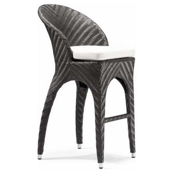 Corona Bar Chair by Zuo Modern