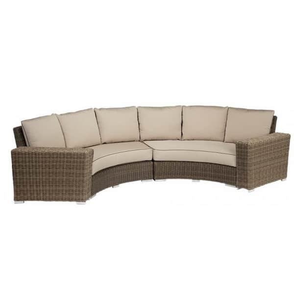 Coronado Curved Sectional