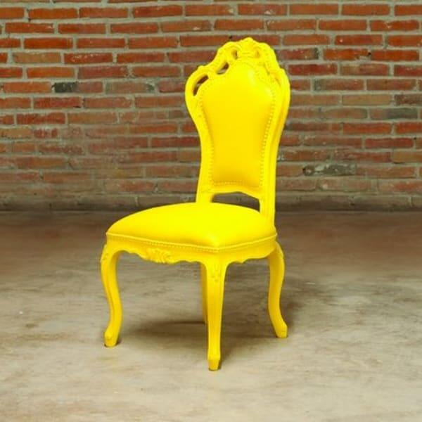 Giovanna Chair - Yellow by Polart