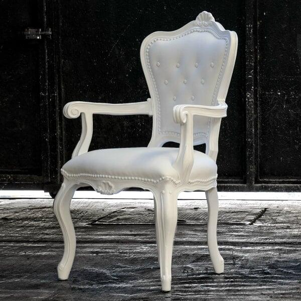 Lazy Eleonora Armchair - White by Polart