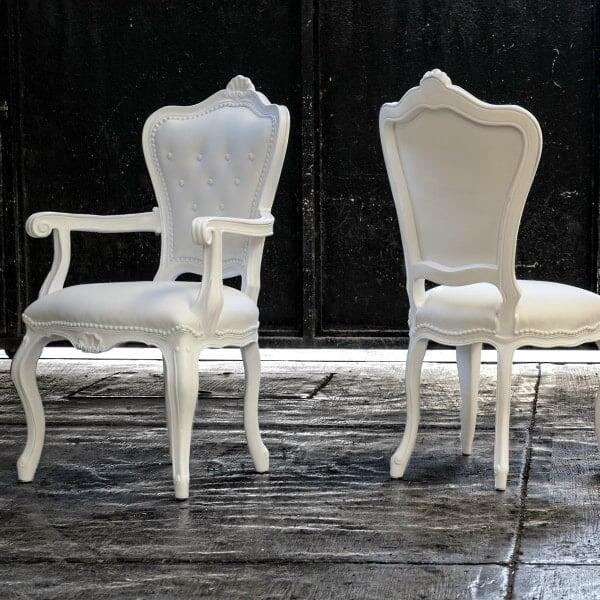 Lazy Eleonora Chair - White by Polart