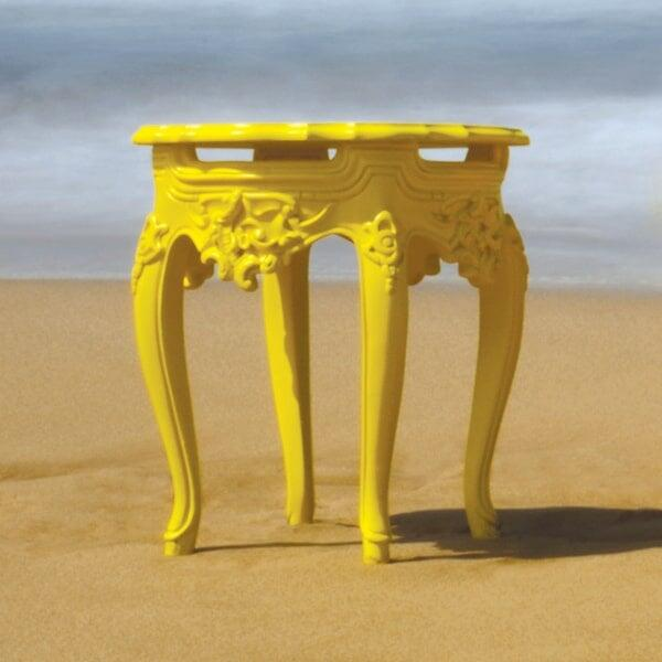 Lofty Anna Side Table - Yellow by Polart