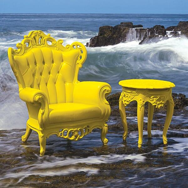 Luigi Armchair - Yellow by Polart