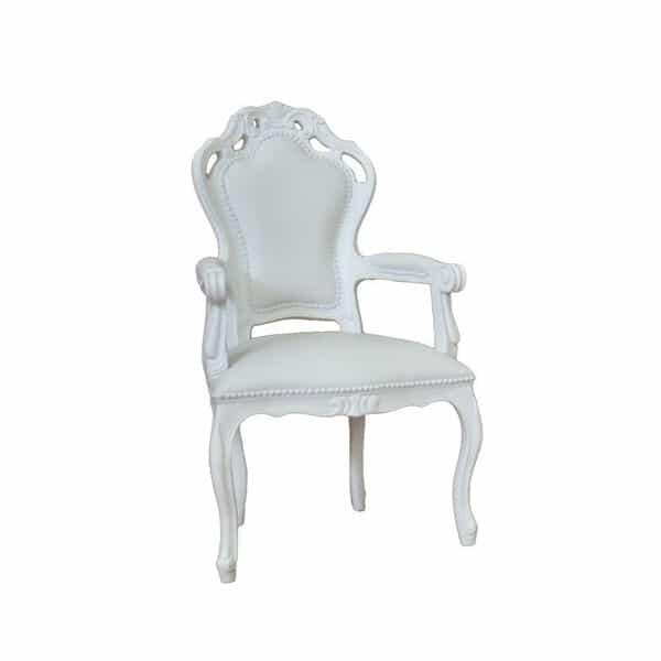 Silly Giovanna Armchair - White by Polart