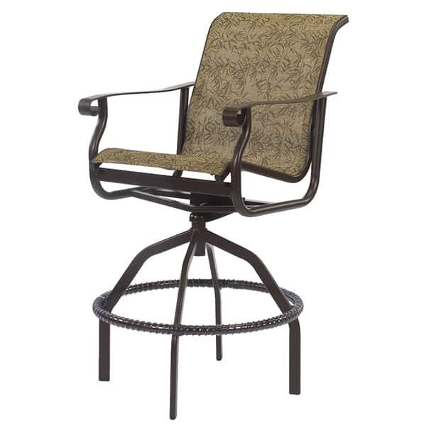 St. Croix Sling Bar Chair by Windward
