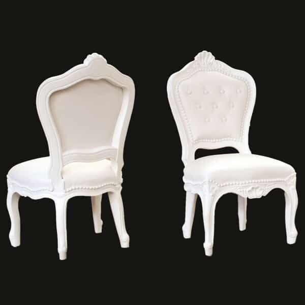Tiny Eleonora Chair - White by Polart