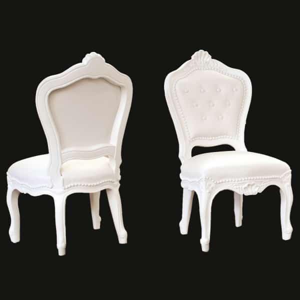 Tiny Eleonora Chair White