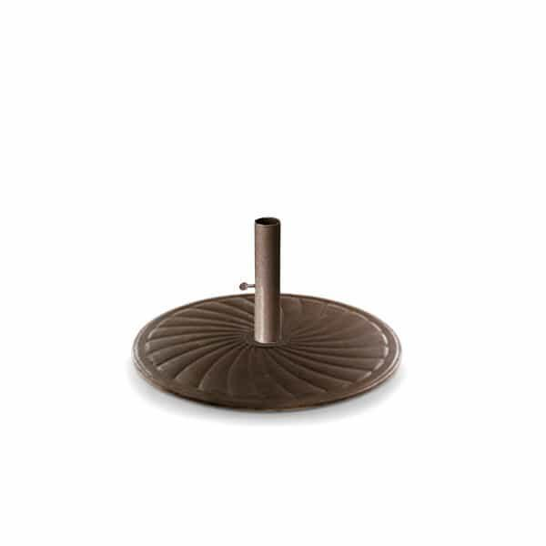 24'' Round Cast Iron Umbrella Base by Telescope Casual