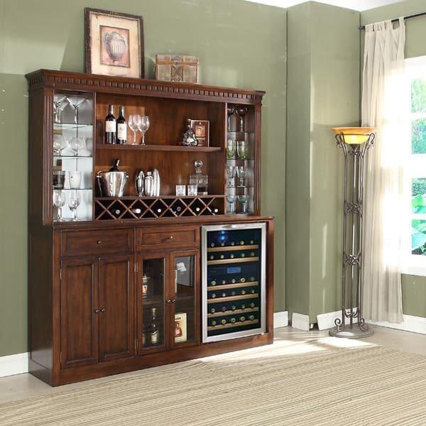 Manchester Back Bar & Hutch by ECI Furniture
