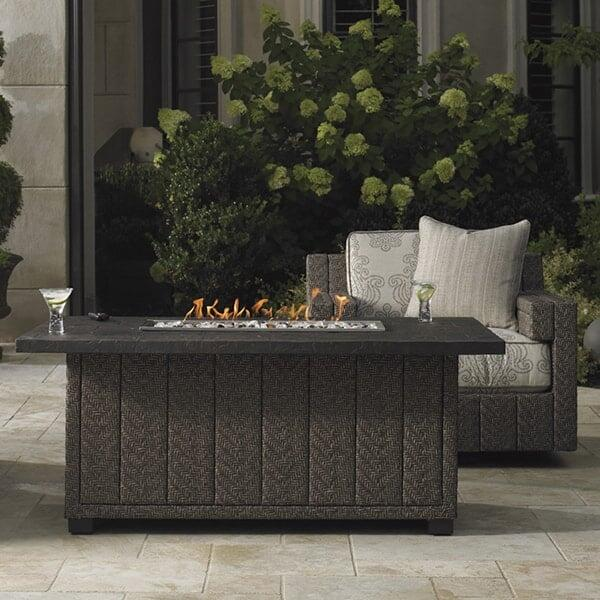 Blue Olive Fire Pit by Tommy Bahama