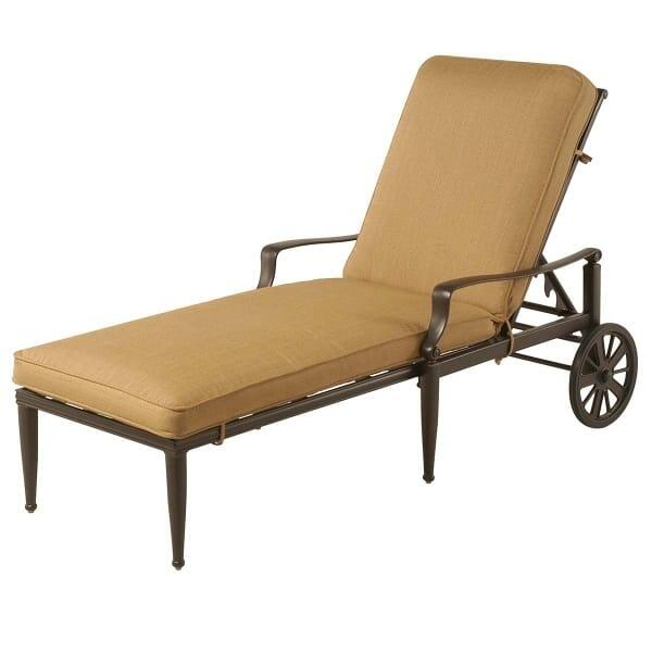 Lancaster chaise lounge for Casual chaise lounge