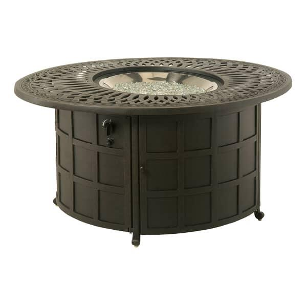 Mayfair Round Enclosed Gas Fire Pit by Hanamint