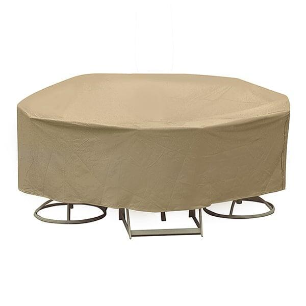48'' - 54'' Round Dining Set Cover - Winter by Protective Covers Inc