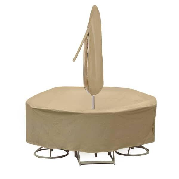 48'' - 54'' Round Dining Set Cover by Protective Covers Inc