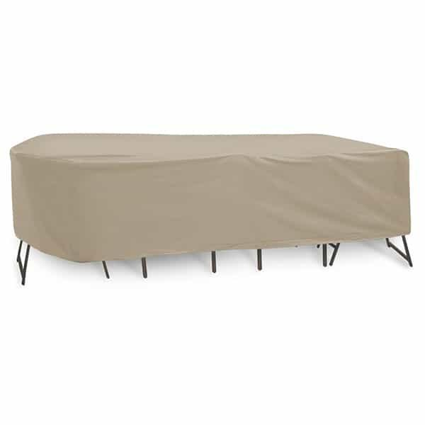 60'' - 66'' Oval Rectangle High Back Dining - Winter by Protective Covers Inc