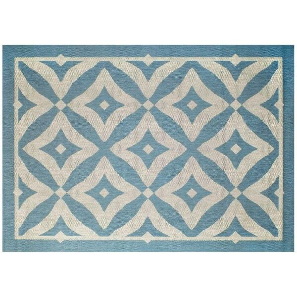 Charleston Outdoor Rug - Spa by Treasure Garden