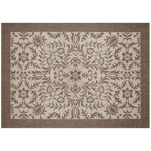 Florence Outdoor Rug - Mocha by Treasure Garden