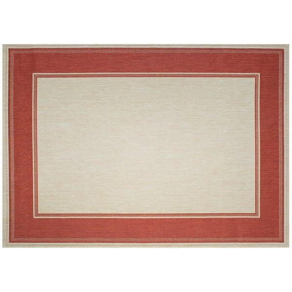 Lodge Outdoor Rug - Redwood by Treasure Garden