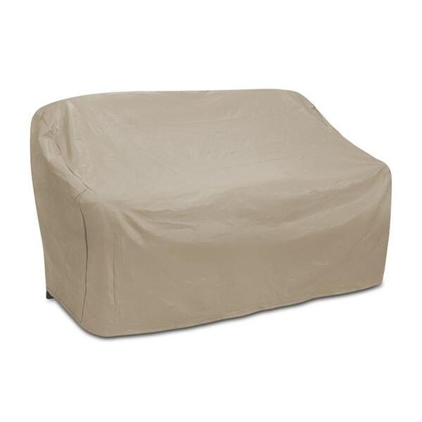 Two Seat Wicker Sofa Cover by Protective Covers Inc