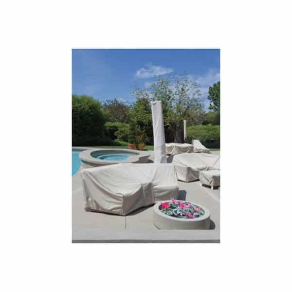 Wedge Corner Module Sectional Cover by Treasure Garden