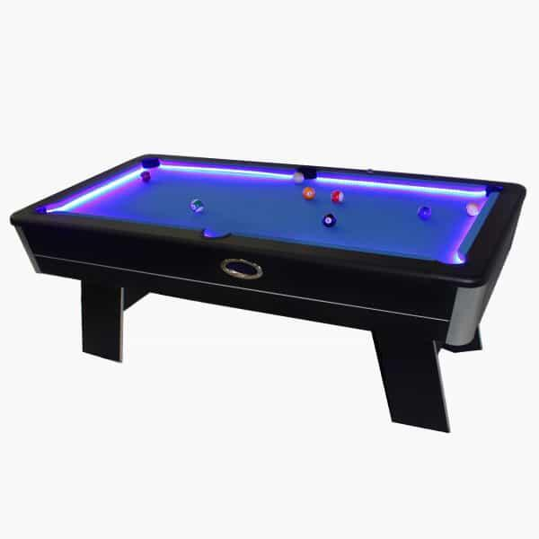 Great 7u0027 Matrix Pool Table With LED By Vortex Games