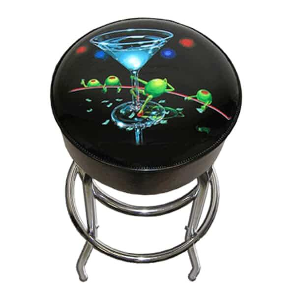 Dirty Martini Bar Stool by Michael Godard