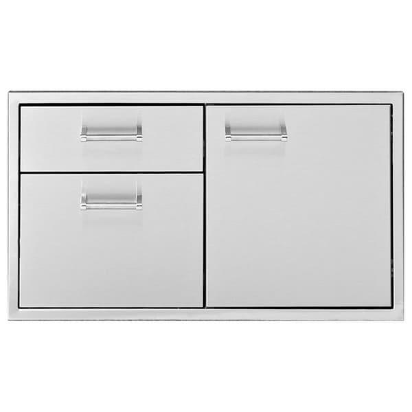 "36"" Door Two Drawer Combo by Delta Heat"