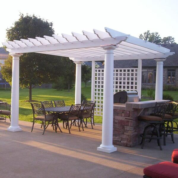 Carter Pergola Project by Leisure Select