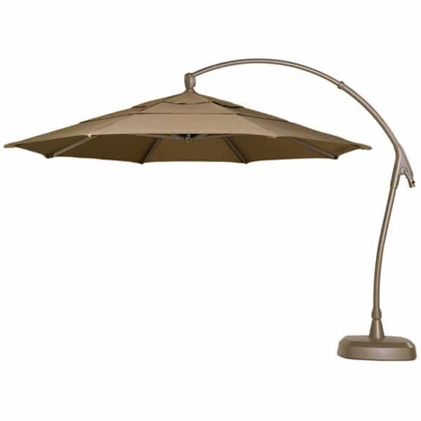 11 Ft. Cantilevered Umbrella by Treasure Garden