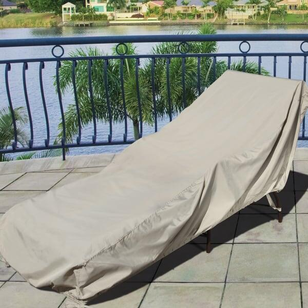 Chaise Lounge Water Resistant Cover by Treasure Garden