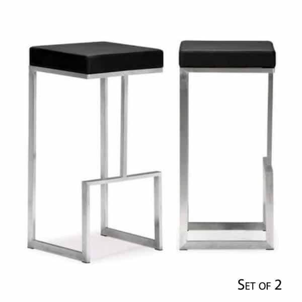 Darwen Bar Chairs Black