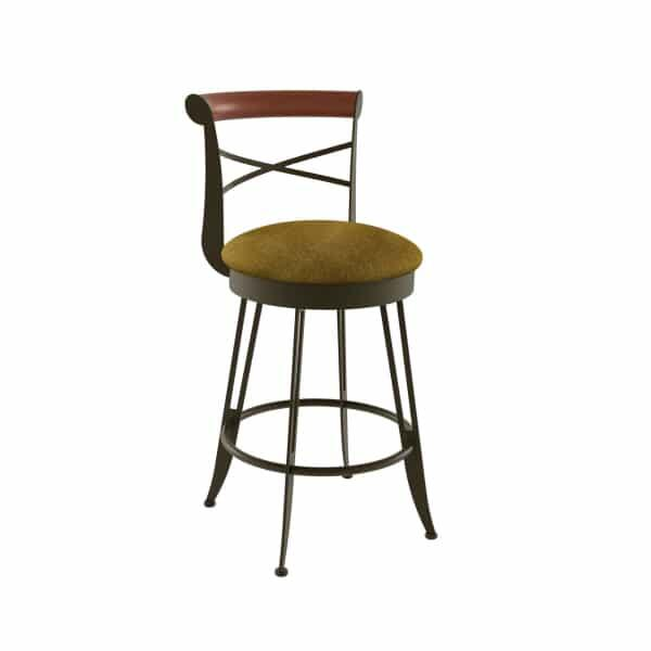 Historian Bar Stool by Amisco