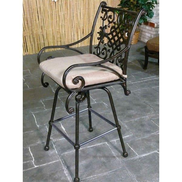 Traditionally Sized Counter Stool for Outdoors