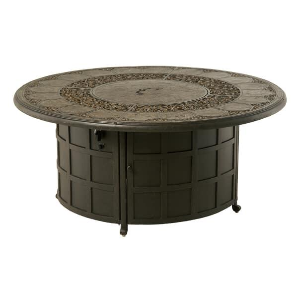 St. Moritz Enclosed Gas Fire Pit by Hanamint