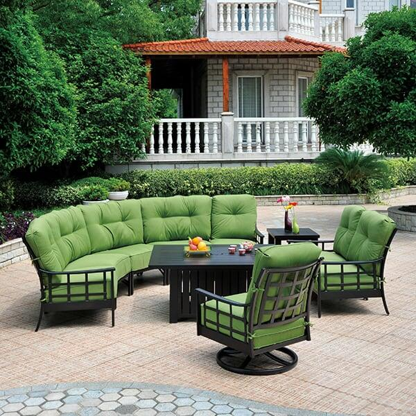 Green Patio Table patio furniture | family leisure