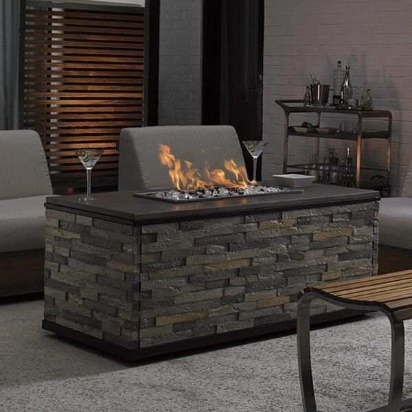 Tres Chic Fire Pit by Tommy Bahama