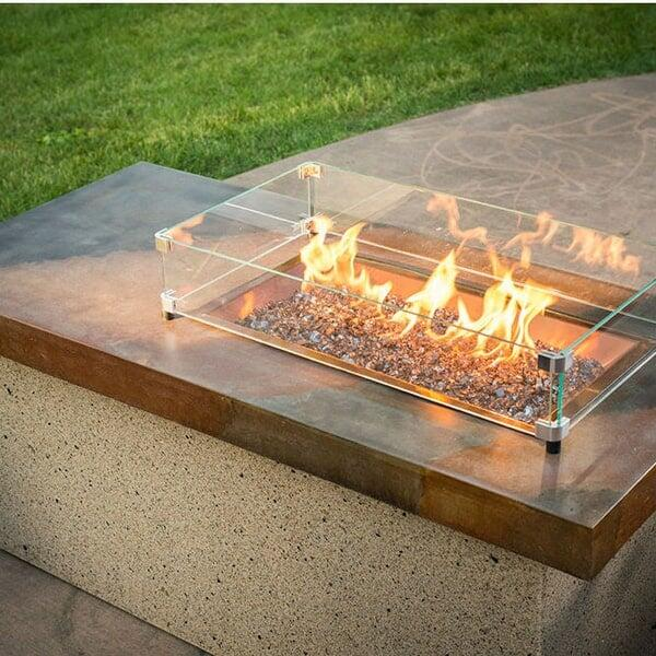 Artisan Fire Pit Table - Copper by Outdoor GreatRoom
