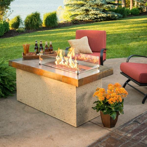 Artisan Fire Pit Table by Outdoor GreatRoom
