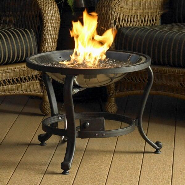 Crystal Fire Pit Table by Outdoor GreatRoom - Crystal Fire Pit Table
