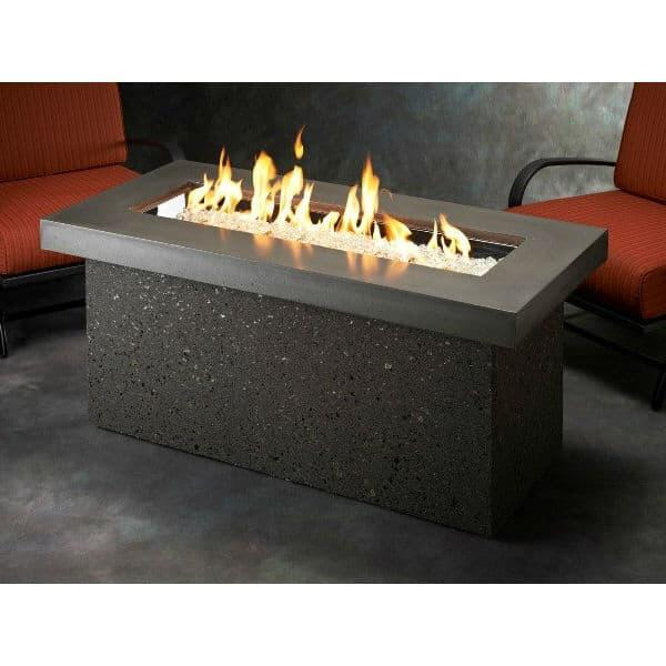 Key Largo Fire Pit Table Midnight