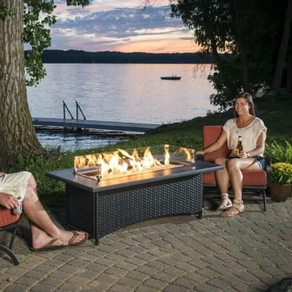 Montego Fire Pit Table by Outdoor GreatRoom