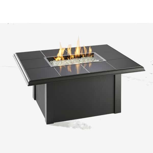 Napa Valley Fire Pit Table - Granite by Outdoor GreatRoom
