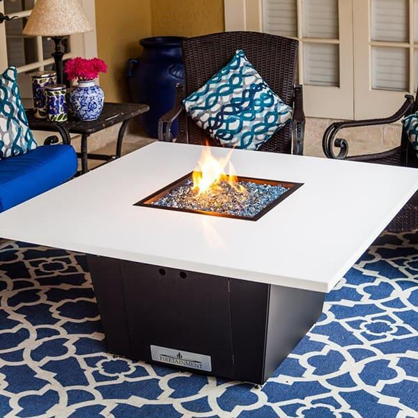 South Beach Fire Pit Table