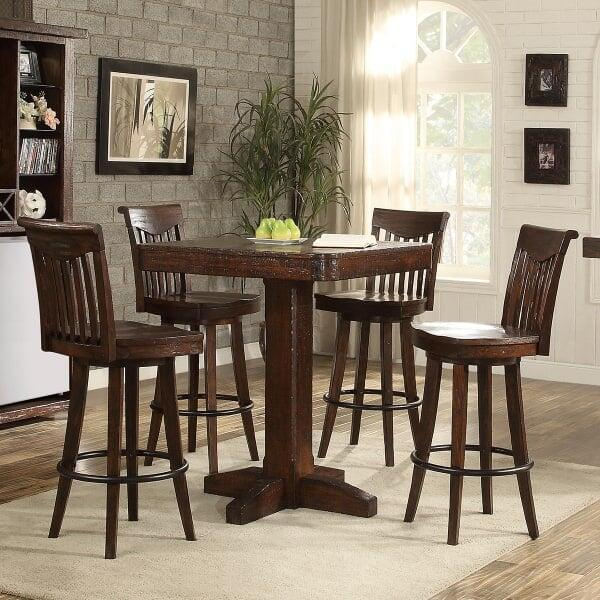 Gettysburg Pub Height Table by ECI Furniture