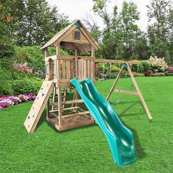 Diamond Point Play Set by Backyard Adventures