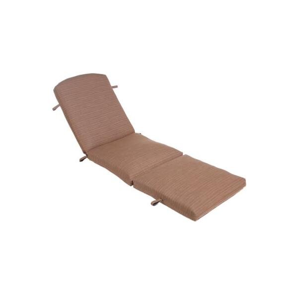 Two Piece Tuscany Chaise Cushion